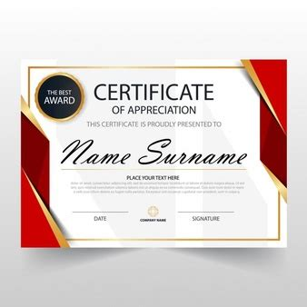 certificate design red certificate border vectors photos and psd files free