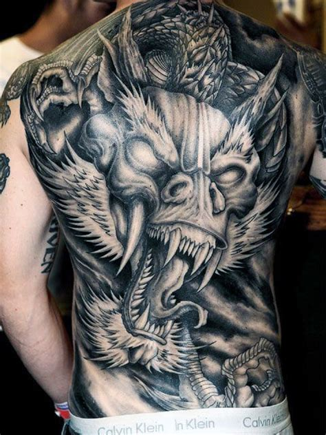 tattoo back of neck man top 50 best back tattoos for men ink designs and ideas