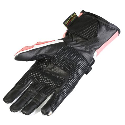 ladies motorcycle gloves new ladies leather waterproof winter motorcycle