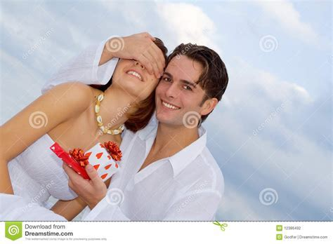 Happy Anniversary Couple In Love Stock Photography   Image