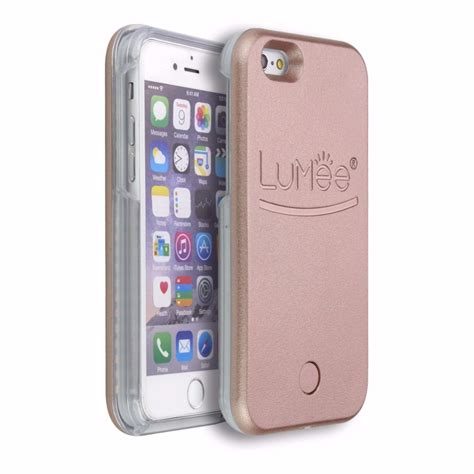 p iphone 6 capinha p iphone 6 plus 6s plus lumee led selfie top r 97 09 em mercado livre