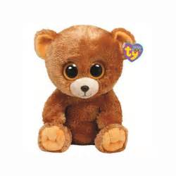 ty beanie boos honey bear medium toystop