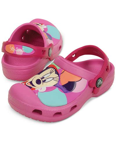 Crocs Minnie Mouse Led Light Crocs Minnie Mouse Colorblock Clogs Toddler 4 5 10