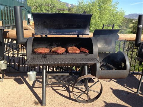 Handmade Barbecue Grills - charcoal grill smoker www pixshark images