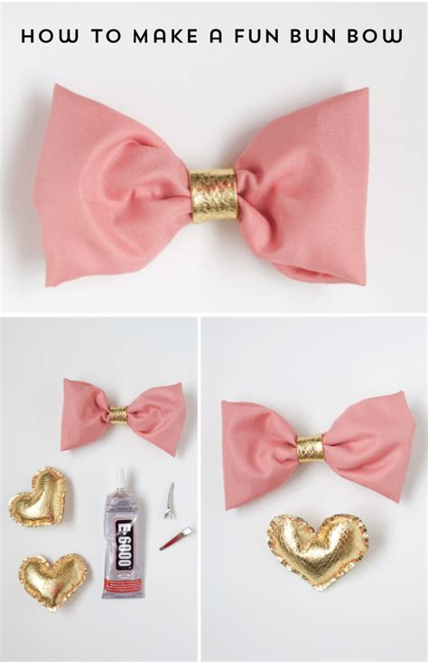how to make bows how to make a bun hair bow the alison show