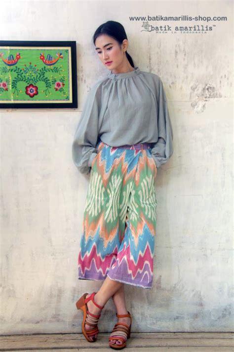 Dress Kanya Kuning batik amarillis made in indonesia batik idea