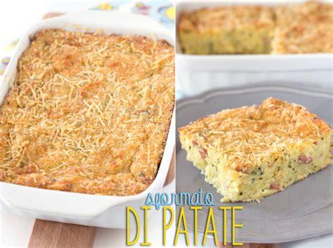 cucinare con le patate ricette con le patate cucinare lo sformato di patate