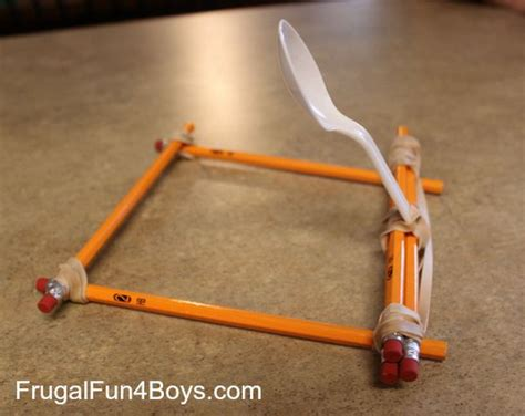 where can i get a rubber st made 20 creative and instrutive diy catapult projects for