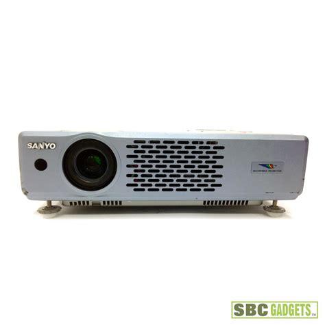 sanyo pro xtrax l sanyo pro xtrax multiverse 2k lumen lcd projector as is