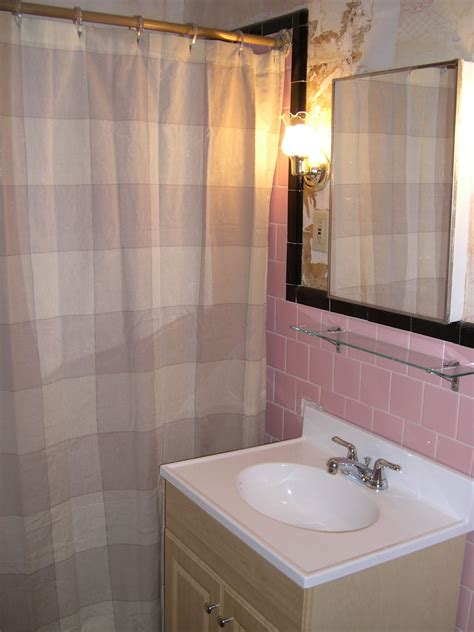 Tiled Bathroom Ideas Pictures Happy New Year And The Pink Tile Bathroom Is Back