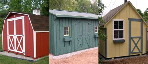 Outdoor Garages And Sheds by Amish Garden Sheds Garden Ftempo