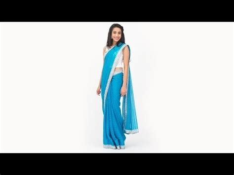 how to drape saree neatly how to wear a saree perfectly 3 tricks youtube