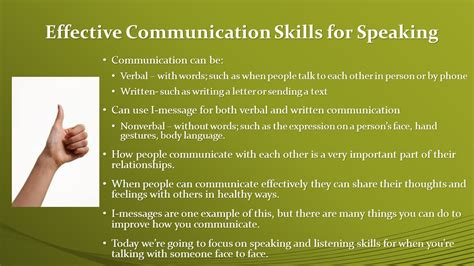 effective communication how to effectively listen to others and express yourself deliver great presentations be persuasive win debates handle difficult conversations resolve conflicts books skills for effective communication ppt
