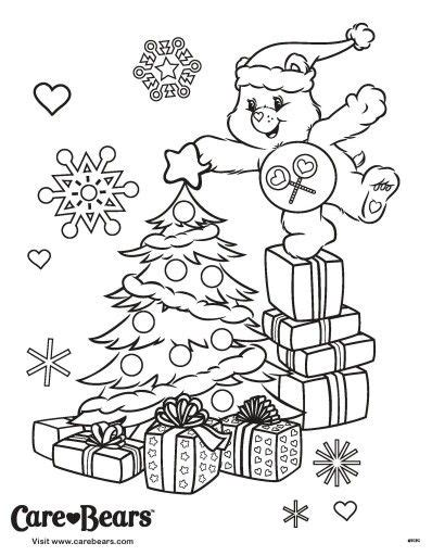 452 Best Images About Care Bears On Pinterest Cheer Tree Toppers Coloring Pages