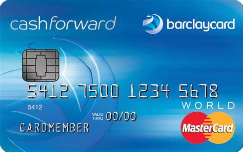 barclaycard cashforward credit card discontinued