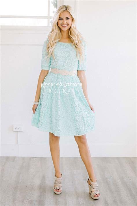 Pretty Dresses pretty mint all lace modest dress modest bridesmaids