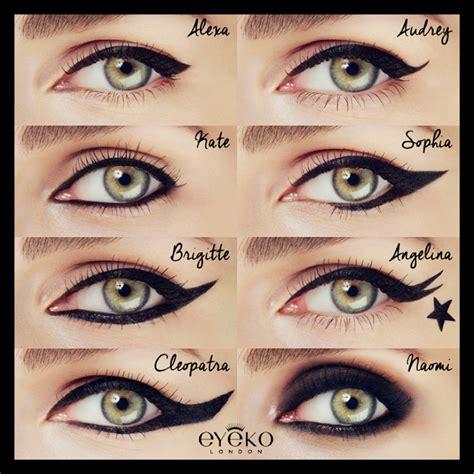 with eyeliner makeup review swatches eyeko black magic liquid