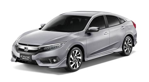 honda civic philippines honda launches stylish civic rs turbo modulo in the