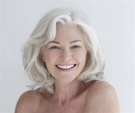 hairstyles for gray hair women over 55 75 best hairstyles for older women images on pinterest