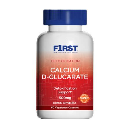 Calcium D Glucarate Detox Mercury by Calcium D Glucarate Purpose Nutrition
