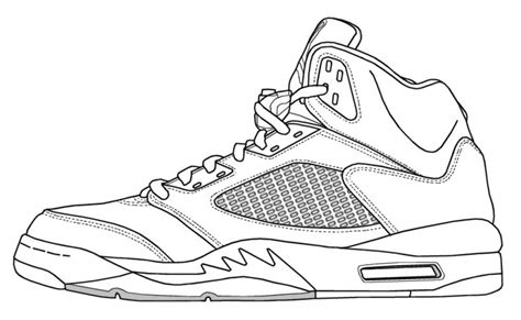coloring pages air jordans air jordan 4 coloring coloring pages