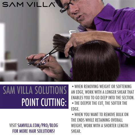 about hair cut head point picture how to point cut hair video