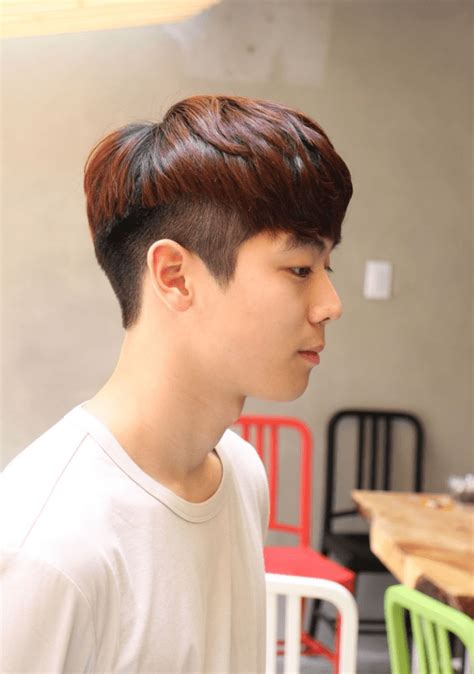 mens perming groups the clean two block haircut kpop korean hair and style