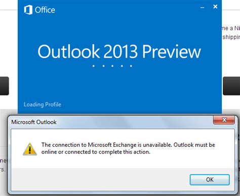 Microsoft Live Login Outlook 2013 Refuses To Start Due To Unavailable Microsoft