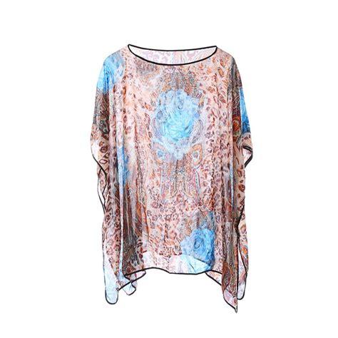 Kaftan Mayang Polos B womens kimono waterfall chiffon kaftan poncho top shirt plus size ebay