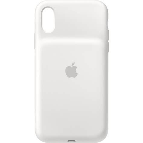 apple iphone xr smart battery white mu7n2ll a b h photo