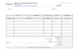 Wholesale Invoice Template by Sale Invoice Template
