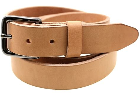 harness leather belt made in america dress work or casual