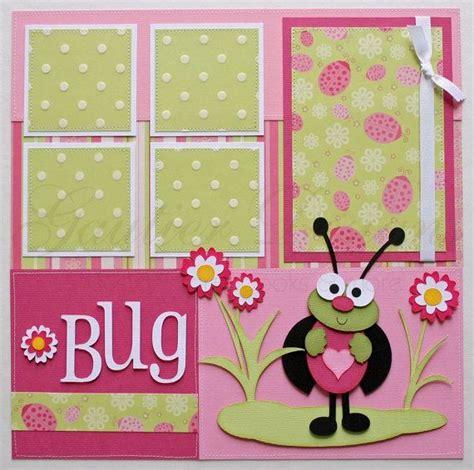 ladybug scrapbook layout pin by kim caldwell on scrapbooking pinterest
