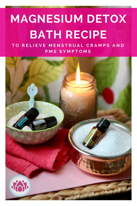 Adrenal Detox Bath by Try This Detox Bath To Relieve Cring And Pms Symptoms