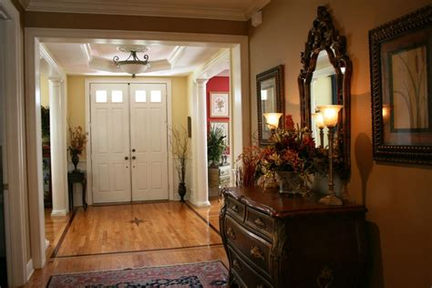 foyer interior amazing foyer interior design with brown drawer feat