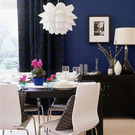 royal blue room royal blue and white dining room dining rooms pinterest
