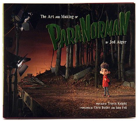 the art and making paranorman panel and signing animation magazine