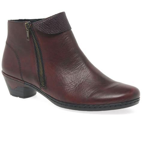 rieker harris womens casual ankle boots charles clinkard