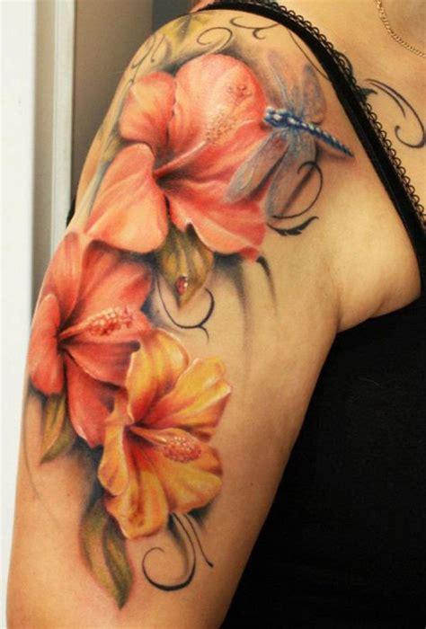 tatuaggi fiori ibisco 40 magnificent hibiscus flower tattoos and design