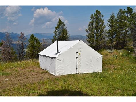 montana canvas tents gallery montana canvas 16 039 x 20 039 wall tent 5 stove jack