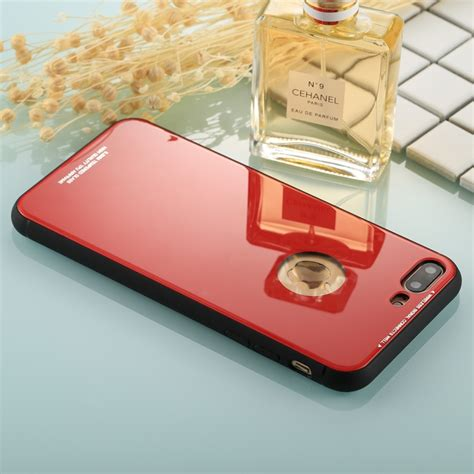 for iphone 8 plus 7 plus 0 8mm tempered glass high quality tpu airframe protective back cover