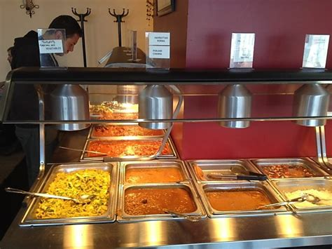 lunch buffet feast of india
