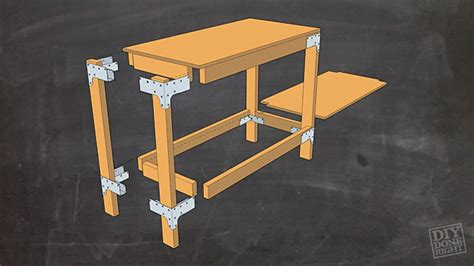 diy cls woodworking heavy duty work table diy done right