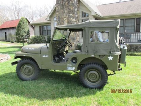 wili jeep jeep willy 1955 m38a1
