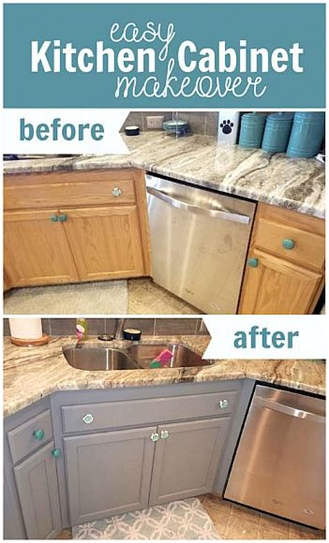 decoart article easy kitchen cabinet makeover