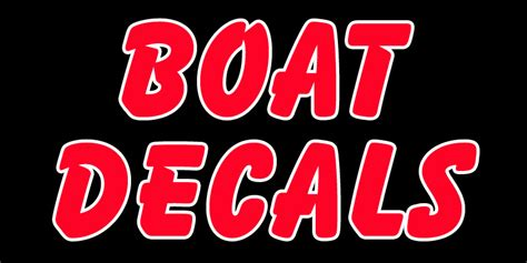 boat stickers boat decals boat stickers