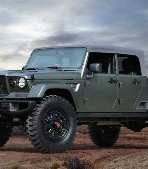 How Much Is A Brand New Jeep Breaking News Jeep Wrangler Truck Will Be A Crew