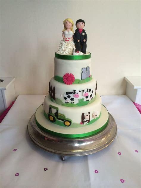dairy farming wedding cake x cakes