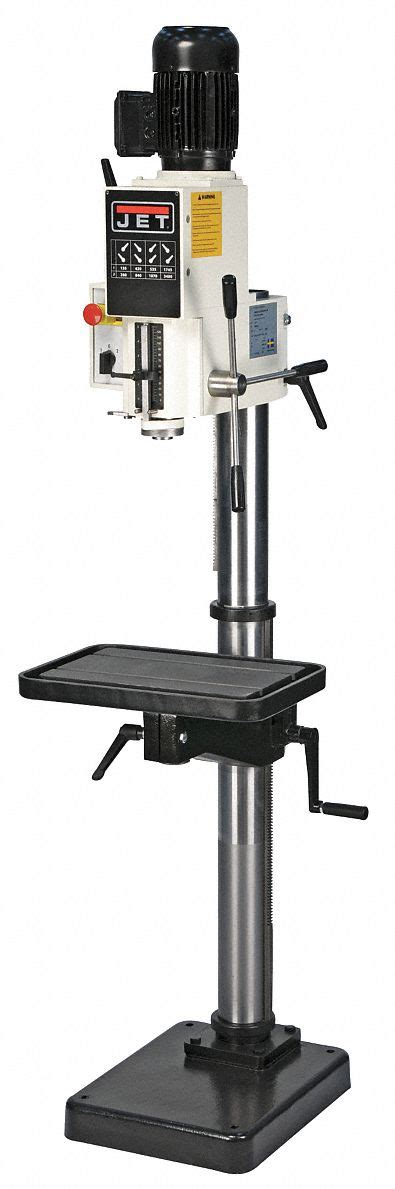 jet bench drill press jet bench drill press 20 quot 1 to 1 1 2 hp 240v 42w836
