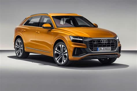 2019 audi q8 suv is big luxurious and expensive